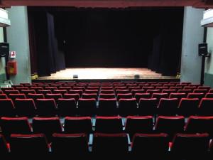 Palco . - Teatro Ferroviario
