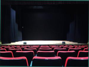 Palco - Teatro Ferroviario