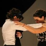 Elisabetta Milia e Chiara Cuccuru in Giulio Cesare di William Shakespeare, Liceo Canopoleno, Sassari, 2014