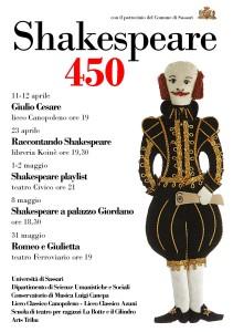Locandina Shakespeare 450