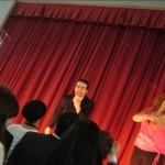 Un momento di Giulio Cesare del Liceo Canopoleno 2 - AS 2013-2014