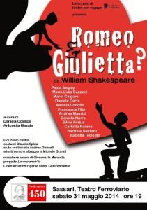 Locandina Romeo e Giulietta A4