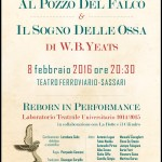 AL POZZO DEL FALCO & IL SOGNO DELLE OSSA di Y. B. Yeats