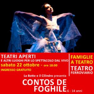 CONTOS DE FOGHILE - sabato 22 ottobre alle ore 18:00 - Teatro Ferroviario