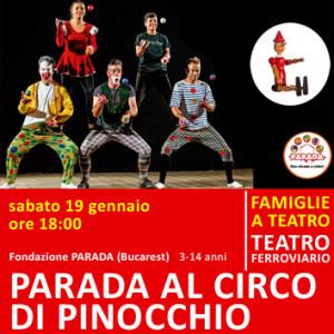 PARADA e SCUOLA DI MAGIA - 19 e 20 gennaio - ore 18:00 - teatro ferroviario